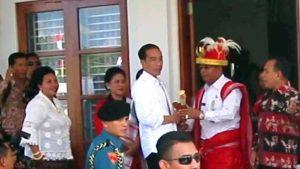 Jokowi dinombatkan jadi Rato