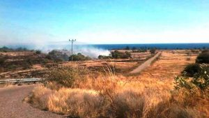 Pembakaran Padang