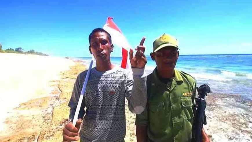 Tanpa komunikasi di pulau salura