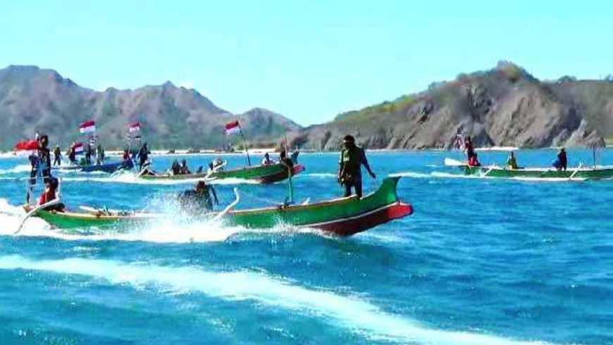 Konvoi Perahu Boat