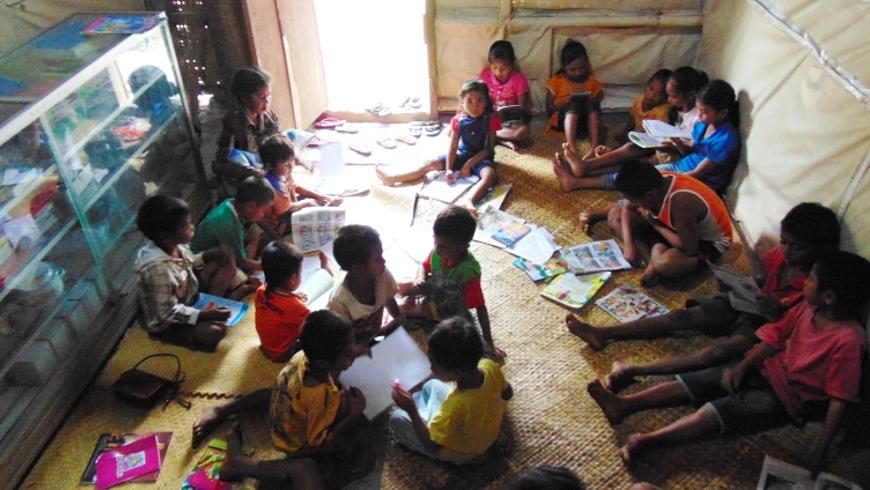 Aktivitas Rumah Baca Sarinah