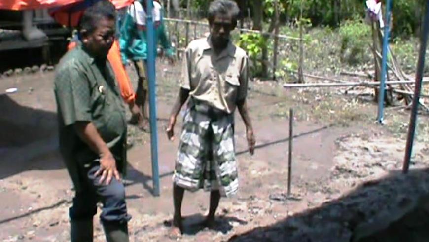 Kunjungan Bupati Ke Banjir Desa Wanga