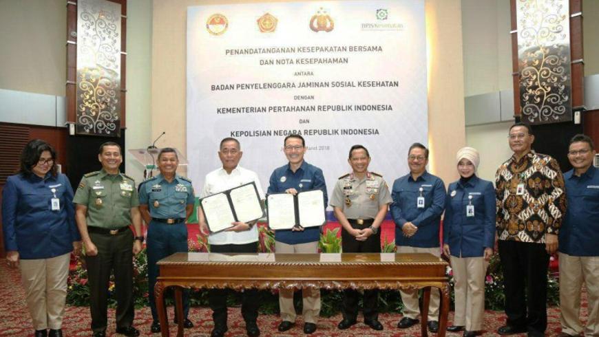 BPJS dan TNI POLRI
