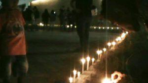 lilin untuk korban bom teroris