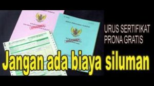 program nasional sertifikat tanah