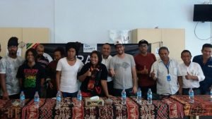 Jumpa Pers Marapu Band