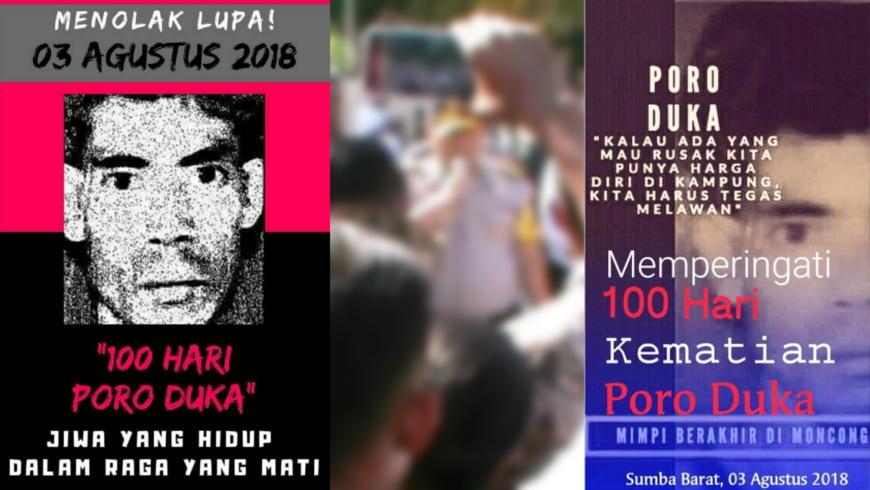 100 Hari Wafatnya Poro Duka