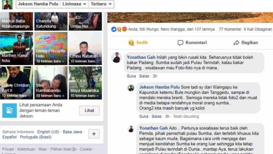 Hobi Bakar Padang