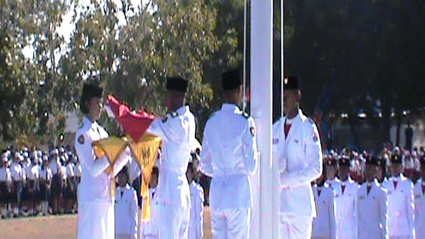Upacara Bendera HUT RI 73