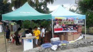 Posko Donasi Gempa Lombok
