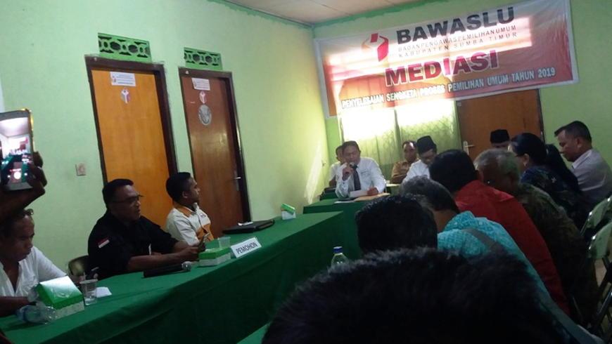 Meidiasi Bawaslu Hanura Ikut Pemilu
