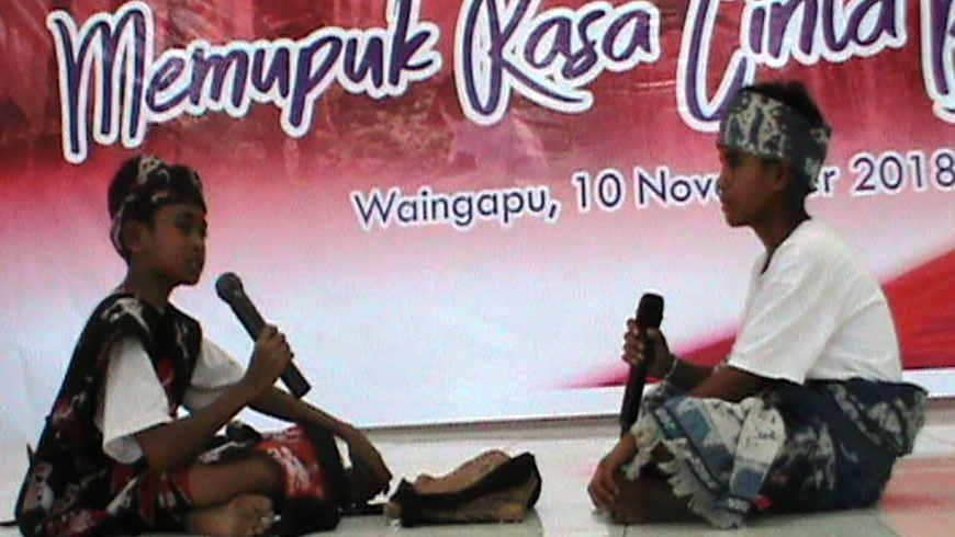Rapper Ala Sumba Timur
