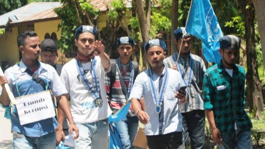 Demo GMKI dan GAMKI