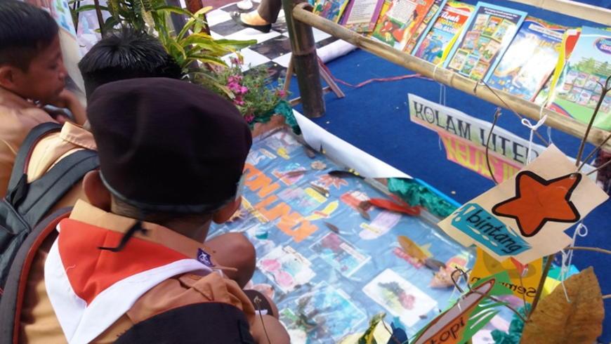 Kolam Literasi Media Belajar