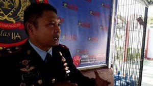 Kepala Lapas Waingapu Ronny Widiyatmoko