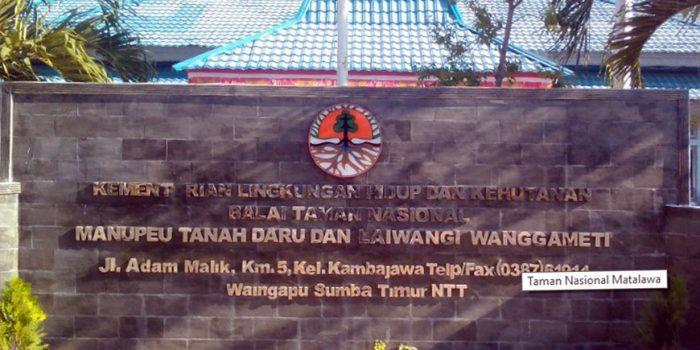 Kantor Balai Taman Nasional Manupeu Tanadaru - Laiwanggi Wangameti