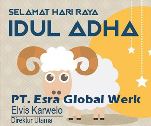 Iklan PT. Esra Global Wek