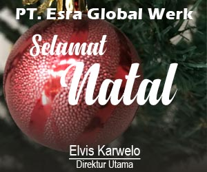 Iklan PT. Esra Global Werk