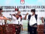 Debat Kandidat Bupati Wakil Buapti Sumba timur