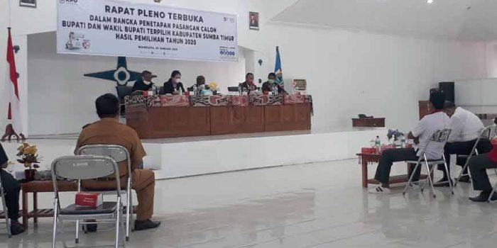 Rapat Pleno KPU SUmba Timur
