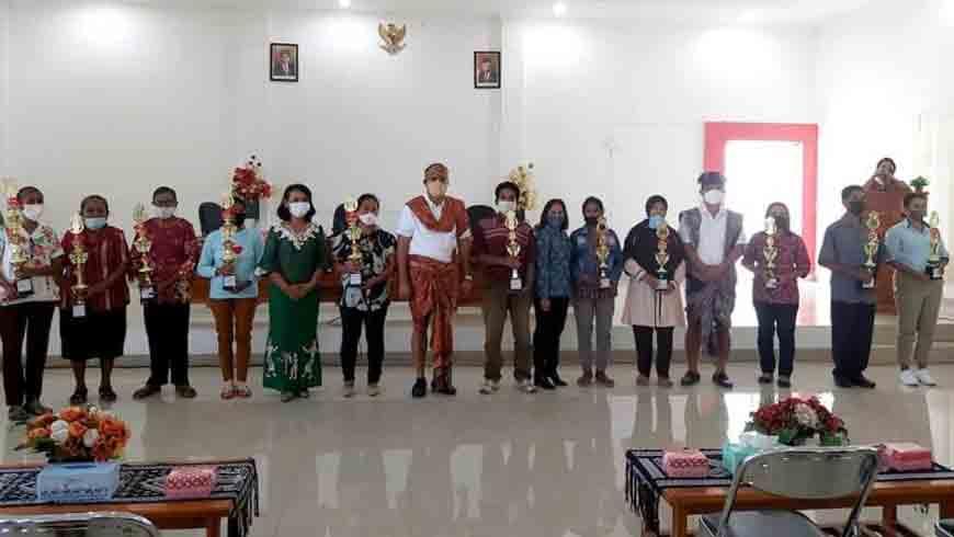 Para Juara Kader Posyandu