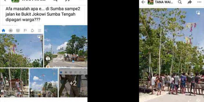 Bukit Jokowi Diblokir