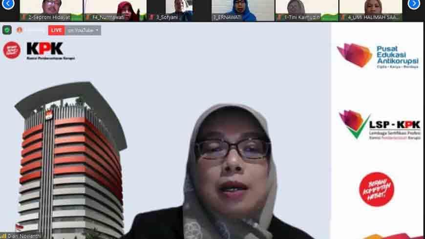 Latih Guru Jadi Penyuluh Antikorupsi